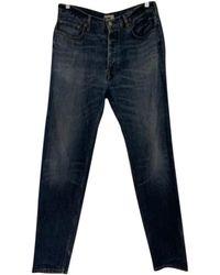 Acne Studios Straight Jeans - Blue