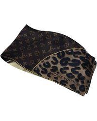 Louis Vuitton Pañuelos en seda marrón