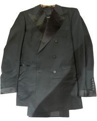 Tom Ford Wolle Anzüge - Schwarz