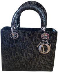 Dior Lady Lackleder Handtaschen - Mehrfarbig