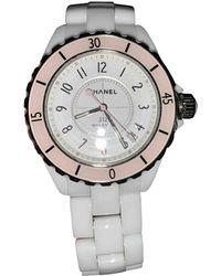 Chanel Reloj en cerámica blanco J12 Automatique