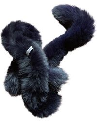 Dior Fuchs Schals - Blau