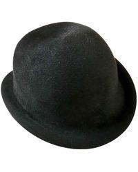 Dior Kaninchen Hüte - Schwarz