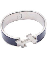 Hermès Clic H Armbänder - Lila