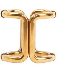 Lanvin Gold Metal Bracelet - Metallic