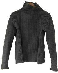 Acne Studios Wolle Pullover - Grau