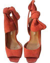 Carven Sandals - Orange