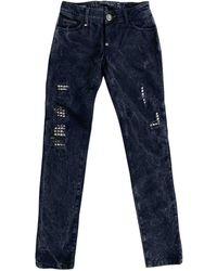Philipp Plein Skinny jeans - Blau