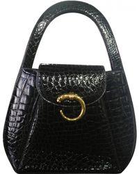 Cartier - Pre-owned Black Handbag - Lyst