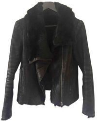 Helmut Lang Black Rabbit Jacket