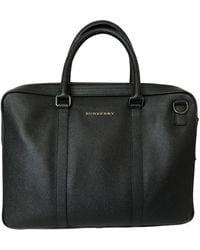 Burberry Leder Taschen - Schwarz