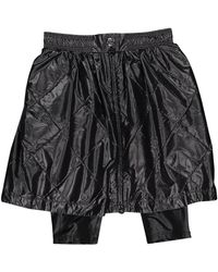 Chanel Black Synthetic Shorts