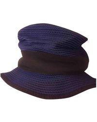 Jil Sander Hat - Blue