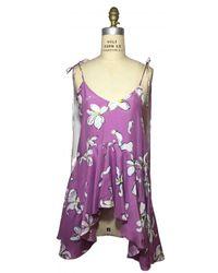 Isa Arfen Silk Camisole - Pink