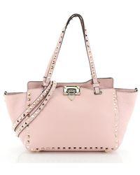 Valentino Rockstud Handtaschen - Pink