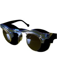 Carven Aviator Sunglasses - Blue