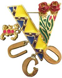 Versace - Vintage Multicolour Metal Pins & Brooches - Lyst
