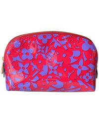 Louis Vuitton Lackleder Vanity - Mehrfarbig