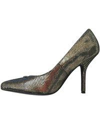 Zadig & Voltaire Leather Heels - Metallic