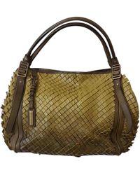 Burberry - Leather Shoulder Bag - Lyst
