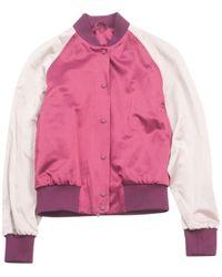 Jonathan Saunders Pink Cotton Jacket