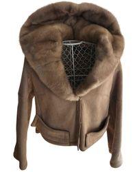 Dior Shearling Jacket - Natural