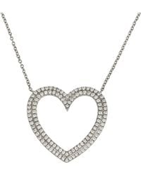 Tiffany & Co. - Silver Platinum Necklace - Lyst