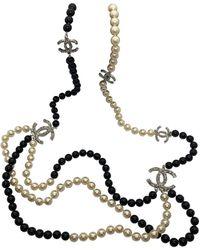 Chanel Sautoirs en Perles - Multicolore