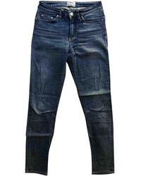 Acne Studios Jeans in cotone - elastan blu Skin 5