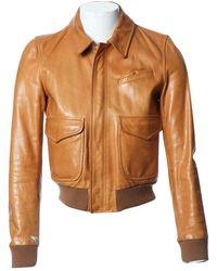 BLK DNM Leather Jacket - Multicolour