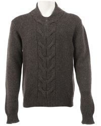 Dior Brown Wool Knitwear & Sweatshirt