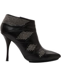 Emilio Pucci - Leather Ankle Boots - Lyst