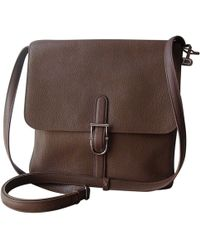 Delvaux - Other Leather Handbag - Lyst