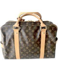 Louis Vuitton Leinen 24 std/ tasche - Braun