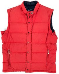 Moncler Red Polyester Jacket