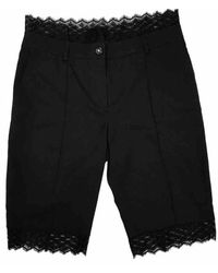Chanel Wool Bermuda - Black
