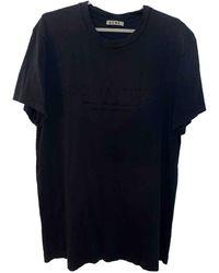 Acne Studios T-shirts - Schwarz