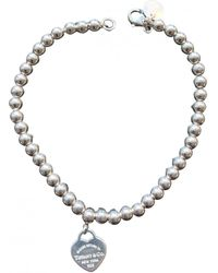 Tiffany & Co. Pulsera Return to Tiffany de Plata - Multicolor