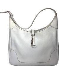 Hermès - Trim Leather Handbag - Lyst