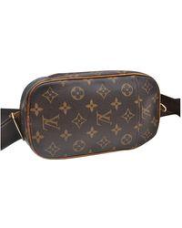 Louis Vuitton Leinen Taschen - Braun