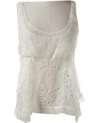 Louis Vuitton - Silk Vest - Lyst