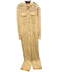 Burberry Jumpsuit - Yellow
