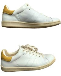 Étoile Isabel Marant Leather Sneakers - White