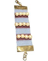 Marni - Multicolour Pearls Bracelets - Lyst