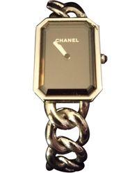 Chanel Montres Première Chaîne en Acier Argenté - Multicolore