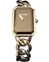 Chanel Première Chaîne Silver Steel Watch - Multicolor