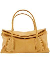 Bottega Veneta - Camel Leather - Lyst