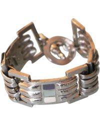 Jean Paul Gaultier - Silver Metal Bracelet - Lyst