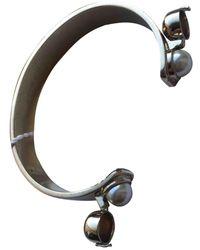 Maison Margiela Gold Metal Bracelets - Blue