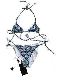 Bottega Veneta Two-piece Swimsuit - Blue